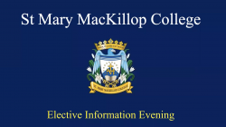 Elective Information Evening