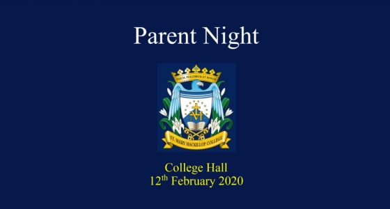 First Parent Night of 2020