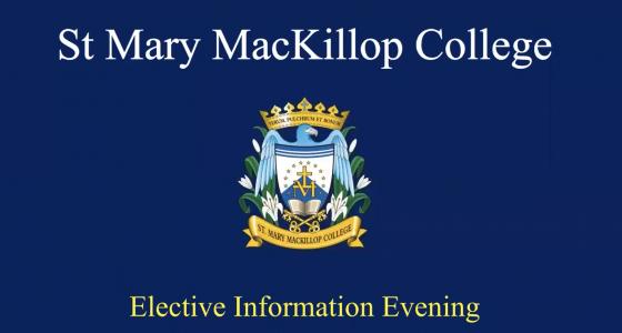 Elective Information Evening